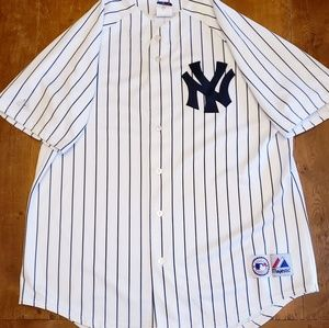🔥 Vntage Yankees Jersey authentic Majestic